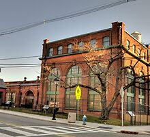 Thomas Edison's Laboratory (West Orange, NJ) by Terence Russell