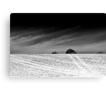 Short Haul BW Canvas Print
