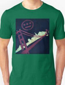 Stencil Golden Gate San Francisco Unisex T-Shirt
