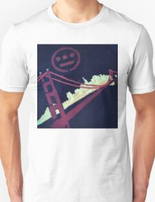 Stencil Golden Gate San Francisco T-Shirt