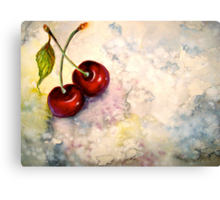 Cherries.. Pure Heaven Canvas Print