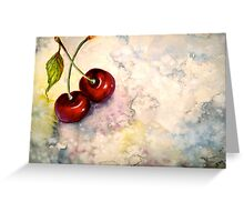 Cherries.. Pure Heaven Greeting Card