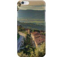 Cortona Tuscany iPhone Case/Skin