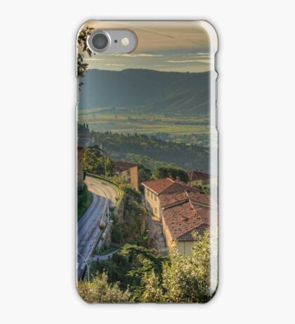 Cortona Tuscany iPhone Case/Skin