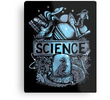 Science Metal Print