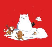 Snowcat One Piece - Short Sleeve