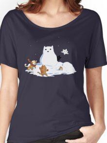 Snowcat Women's Relaxed Fit T-Shirt