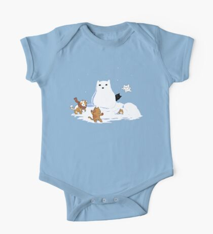 Snowcat One Piece - Short Sleeve