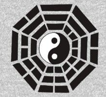 Pakua - Eight Trigrams design (Black) T-Shirt