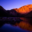Dawn at Convict Lake by Justin Mair