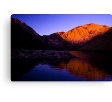 Dawn at Convict Lake Canvas Print
