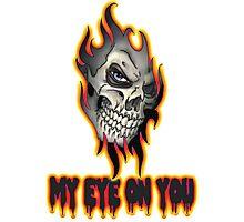 Cool Skull Design T-shirt Photographic Print