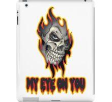 Cool Skull Design T-shirt iPad Case/Skin
