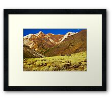 Pack Train, McGee Canyon Framed Print
