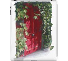 That mysterious red door on G- Street iPad Case/Skin