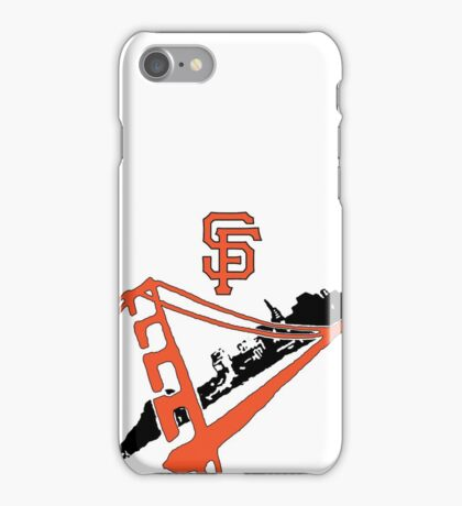 San Francisco Giants Stencil iPhone Case/Skin