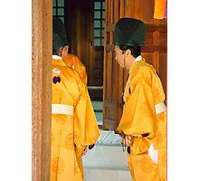 Shinto Priests Photographic Print