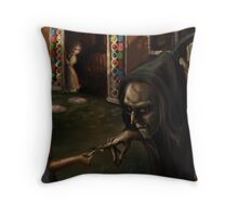 Deceiving the Witch Throw Pillow