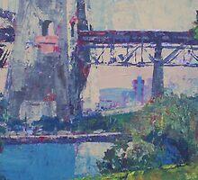Sydney Harbour Bridge Northside by Mellissa Read-Devine