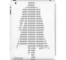 Director Fury iPad Case/Skin
