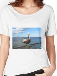 Pelican In North Carolina Women's Relaxed Fit T-Shirt