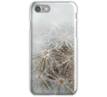 Misty dandelion iPhone Case/Skin