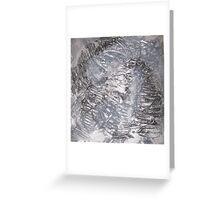 Stunning Silver Greeting Card