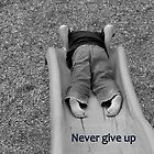 Never Give Up by Deanna Roberts Think in Pictures