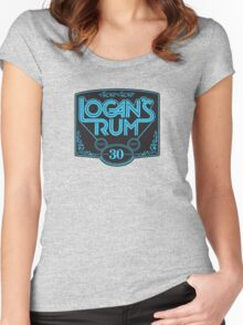 Logan's Rum Women's Fitted Scoop T-Shirt