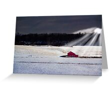 Little Red Barn Greeting Card