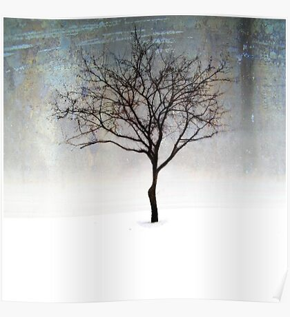 A lone Tree Poster