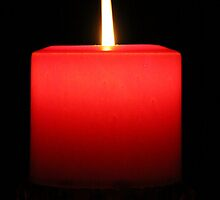 Red Candle by digipix