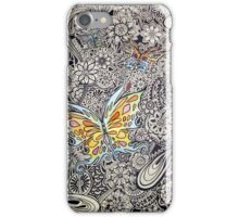 Butterfly Ink iPhone Case/Skin