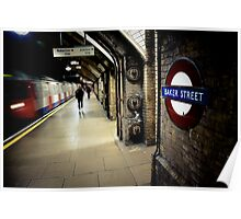 Baker Street Underground Poster