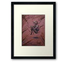 10 years in Sedona Framed Print