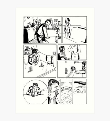 HSC Major Work Comic page 1 Art Print