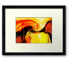 ravine #3 Framed Print