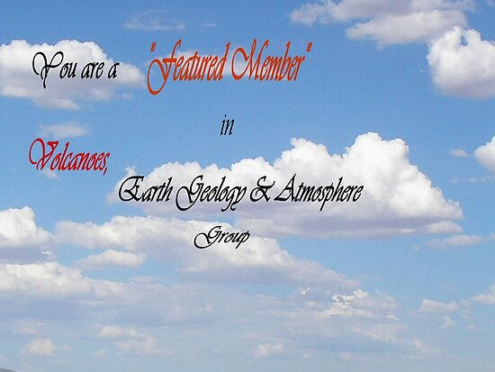 Banner-FM-volcanoes, earth geo atmosphere by Ann Warrenton