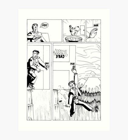 HSC Major Work Comic page 3 Art Print