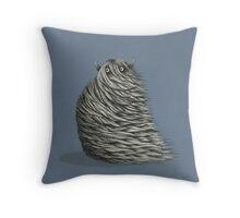 The Sand Yeti Throw Pillow