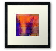 Building blocks of confidence Framed Print