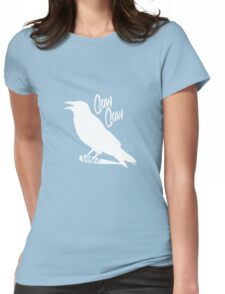 Caw Caw Womens Fitted T-Shirt