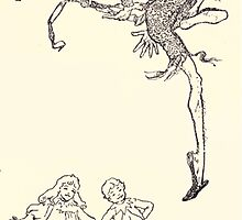 The Zankiwank & the Bletherwitch by Shafto Justin Adair Fitz Gerald art Arthur Rackham 1896 0082 Pinching Legs by wetdryvac