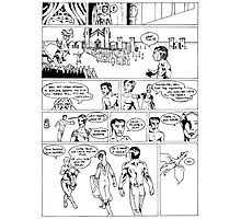 HSC Major Work Comic page 7 Photographic Print