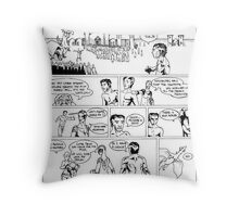 HSC Major Work Comic page 7 Throw Pillow