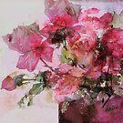 dusty roses by aquaarte