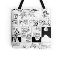 HSC Major Work Comic page 9 Tote Bag