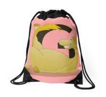 Pony Monogram Letter G Drawstring Bag