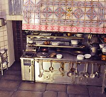 .Just a Spanish Kitchen. It´s a scale model: a representation of the Kitchen´s oldest restaurant in the world by Milita