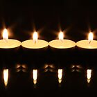 Tea Light Candles by digipix
